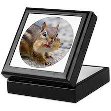 Cute Chipmunk lover Keepsake Box