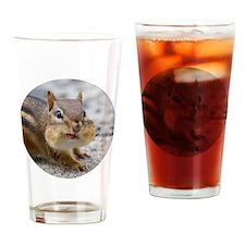 Cute Chipmunk lover Drinking Glass