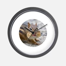 Funny Chipmunk lover Wall Clock