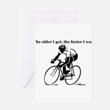 Cute Cycling Greeting Cards (Pk of 10)