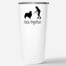 Funny Rescue sheltie Travel Mug