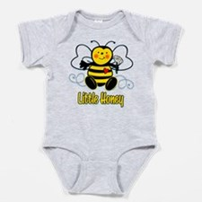 Little Honey Bee Baby Bodysuit