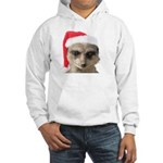 Santa Meerkat Jumper Hoody