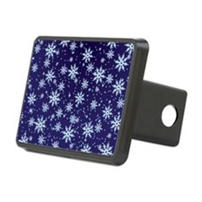 Midnight Snowflakes Hitch Cover