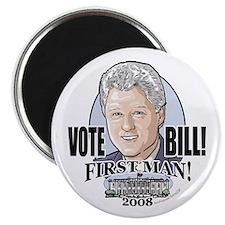 Vote Bill 4 First Man Magnet
