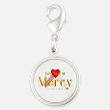 Holy Year of Mercy Silver Round Charm