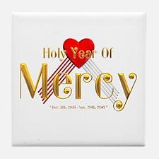 Holy Year of Mercy Tile Coaster