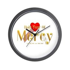 Holy Year of Mercy Wall Clock