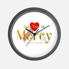 Holy Year of Mercy Wall Clock