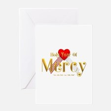 Holy Year of Mercy Greeting Card