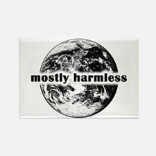 Cute Mostly harmless Rectangle Magnet