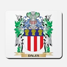 Dales Coat of Arms (Family Crest) Mousepad