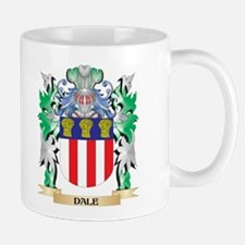 Dale Coat of Arms (Family Crest) Mugs