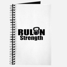 Cute Rulon strength logo Journal