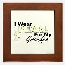 I Wear Pearl 3 (Grandpa LC) Framed Tile