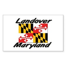 Landover Maryland Rectangle Decal