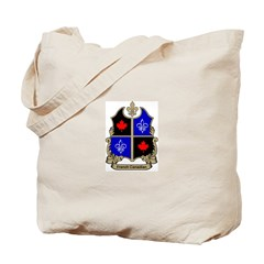 French-Canadian Shield Tote Bag