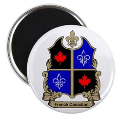French-Canadian Shield Magnet