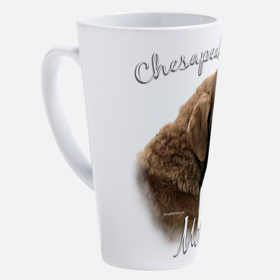 Unique Chesapeake bay retriever 17 oz Latte Mug