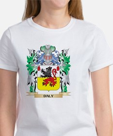 Daly Coat of Arms (Family Crest) T-Shirt