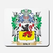 Daly Coat of Arms (Family Crest) Mousepad