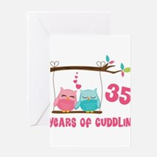 Funny 35th wedding anniversary Greeting Card