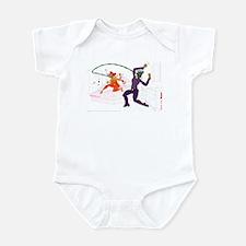 Satan Was Here Infant Bodysuit
