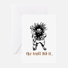 Troll Greeting Cards (Pk of 10)