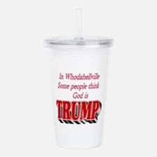 In Whodahellville Some Acrylic Double-wall Tumbler