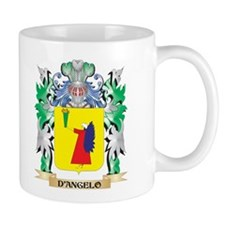 D'Angelo Coat of Arms (Family Crest) Mugs