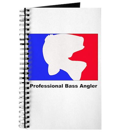 Professional bass angler Journal