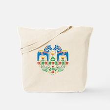 Swedish Dala Horse Tote Bag