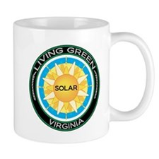 Living Green Virginia Solar Energy Mug