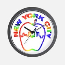 New York City 2 - Wall Clock