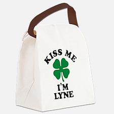 Unique Lyne Canvas Lunch Bag