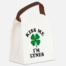 Funny Lyne Canvas Lunch Bag