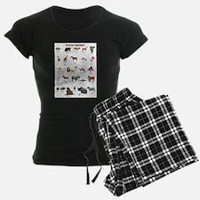 Animal pictures alphabet Pajamas