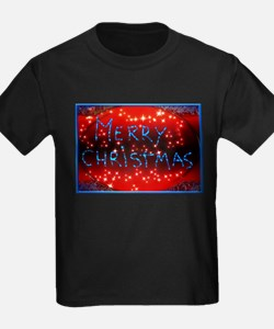 Luminous Merry Christmas sign T-Shirt