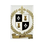 MEUSE Family Crest Rectangle Magnet