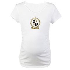 MEUSE Family Crest Maternity T-Shirt
