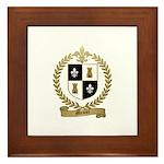 MEUSE Family Crest Framed Tile
