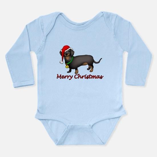 Dachshund Art Long Sleeve Infant Bodysuit
