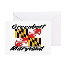 Greenbelt Maryland Greeting Cards (Pk of 10)