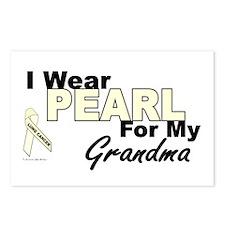 I Wear Pearl 3 (Grandma LC) Postcards (Package of