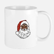 black santa claus Mugs