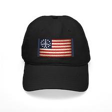 Vintage Peace Flag Baseball Hat