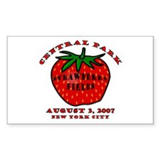 August 3, 2007 Rectangle Decal