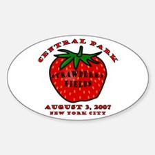 August 3, 2007 Oval Decal