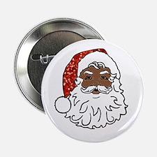 "black santa claus 2.25"" Button"