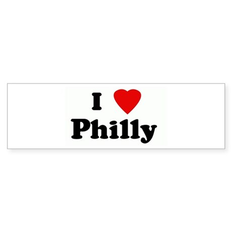 I Love Philly Bumper Sticker